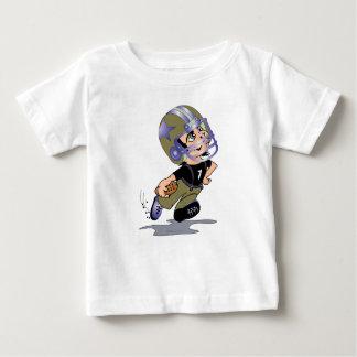 Camiseta Para Bebê T-shirt do jérsei da multa do bebê do FUTEBOL de