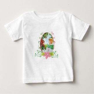 Camiseta Para Bebê T-shirt do jérsei da multa do bebê do rei e da