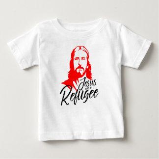 Camiseta Para Bebê T-shirt do jérsei do bebê de Jesus