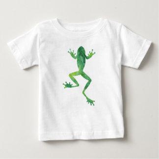 Camiseta Para Bebê T-shirt do jérsei do sapo