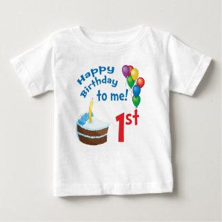 Camiseta Para Bebê T-shirt do primeiro aniversario
