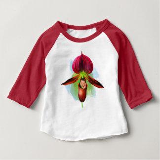 Camiseta Para Bebê T-shirt do Raglan do bebê