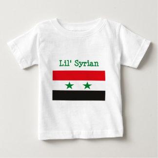 Camiseta Para Bebê T-shirt do sírio de Lil