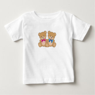 Camiseta Para Bebê t-shirt do urso de ursinho para miúdos