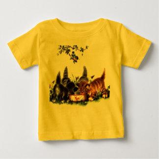 Camiseta Para Bebê T-shirt doce do jérsei do algodão, 18 meses