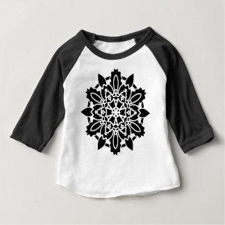 Camiseta Para Bebê T-shirt dos DESENHISTAS preto e branco