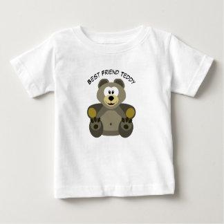 Camiseta Para Bebê T-shirt engraçado do bebê do urso de ursinho do