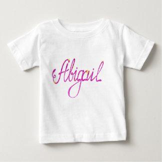 Camiseta Para Bebê T-shirt fino Abigail do jérsei do bebê