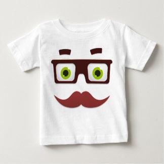 Camiseta Para Bebê T-shirt fino do jérsei do bebê