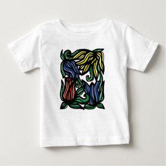 """Camiseta Para Bebê T-shirt fino do jérsei do bebê da """"devoção"""""""