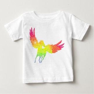 Camiseta Para Bebê T-shirt fino pegasus do jérsei do bebê