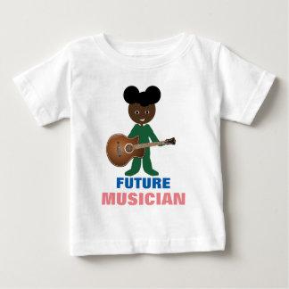 Camiseta Para Bebê T-shirt futuro do jérsei da multa da criança do