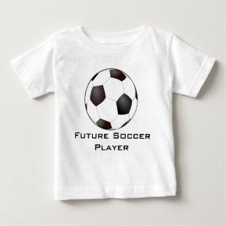 Camiseta Para Bebê T-shirt futuro do jogador de futebol