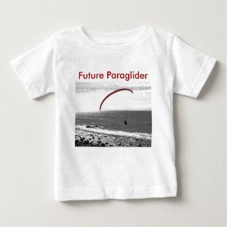 Camiseta Para Bebê T-shirt futuro do Paraglider