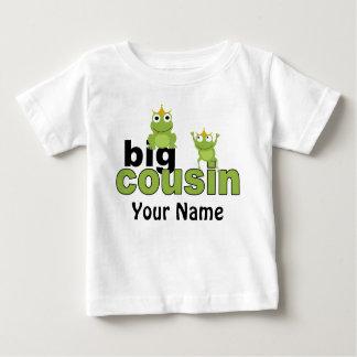 Camiseta Para Bebê T-shirt grande do sapo do primo