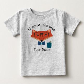 Camiseta Para Bebê T-shirt inteligente do jérsei do bebê da língua