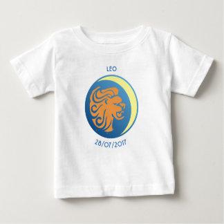 Camiseta Para Bebê T-shirt Leo do bebê do sinal da estrela