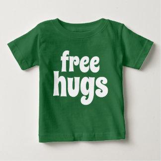Camiseta Para Bebê T-shirt livre do jérsei da multa do bebê dos