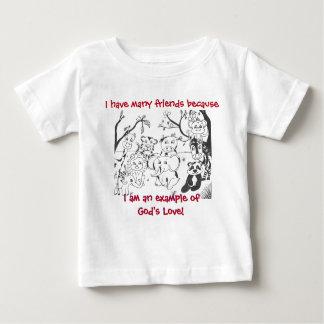 Camiseta Para Bebê T-shirt - o amor do deus