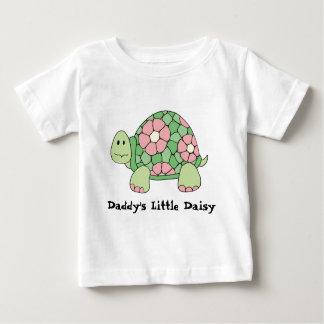 Camiseta Para Bebê T-shirt pequeno da margarida do pai