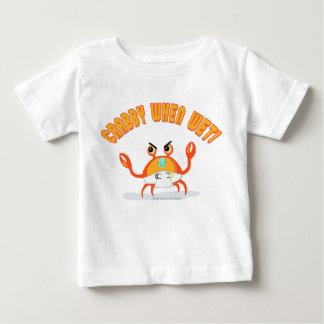 Camiseta Para Bebê T-shirt pequeno do bebê do caranguejo