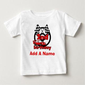 Camiseta Para Bebê T-shirt personalizado do segundo aniversário das