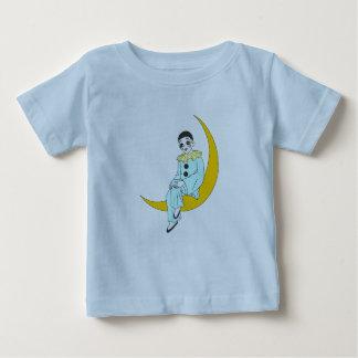 Camiseta Para Bebê t-shirt pierrot da lua