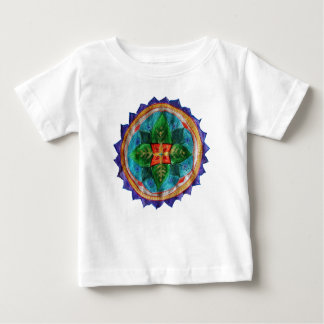 Camiseta Para Bebê T-shirt positivo do jérsei da multa do bebê da