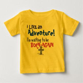 Camiseta Para Bebê T-shirt renascido do bebê