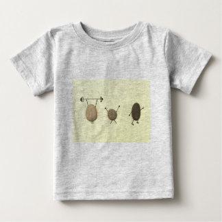 Camiseta Para Bebê T-shirt simples contudo rochoso
