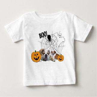 Camiseta Para Bebê T-shirt unisex da criança do Dia das Bruxas dos
