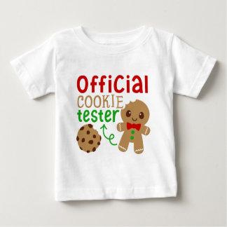 Camiseta Para Bebê T-shirt unisex do bebê oficial do verificador do