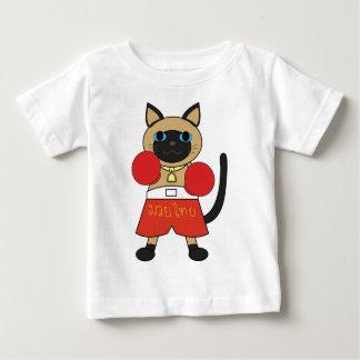 Camiseta Para Bebê Tailandês de Muay Siamese