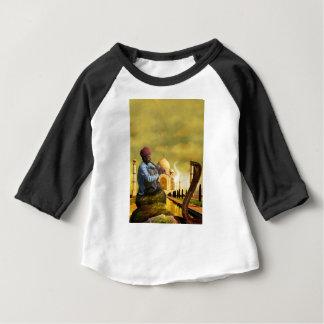 Camiseta Para Bebê Taj Mahal
