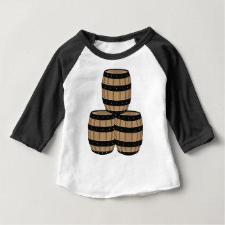 Camiseta Para Bebê Tambores de vinho