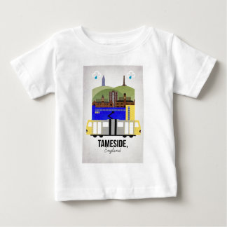 Camiseta Para Bebê Tameside