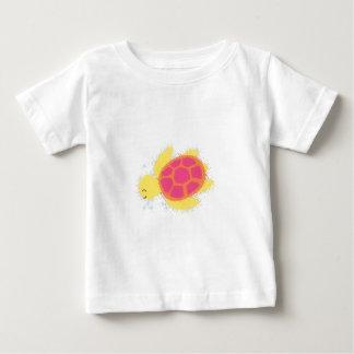Camiseta Para Bebê Tartaruga de mar bonito