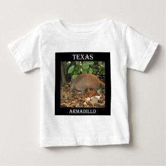 Camiseta Para Bebê Tatu de Texas
