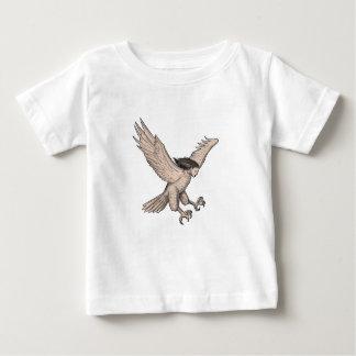 Camiseta Para Bebê Tatuagem Swooping do Harpy
