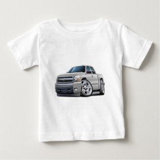 Camiseta Para Bebê Táxi prolongado branco de Chevy Silverado