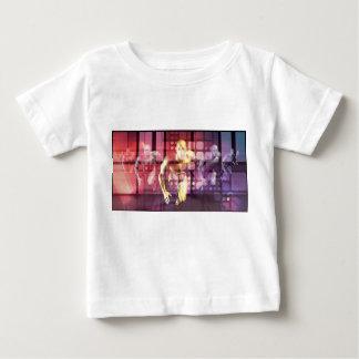 Camiseta Para Bebê Tecnologia e soluções da pesquisa de cuidados