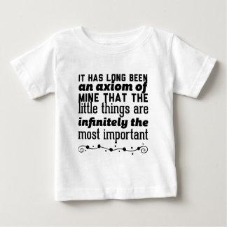 Camiseta Para Bebê Tem sido por muito tempo um axioma de meus que o