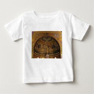 Camiseta Para Bebê Templo do arco da abóbada da igreja