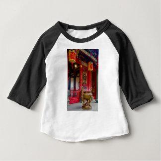 Camiseta Para Bebê Templo em Yilan, Formosa