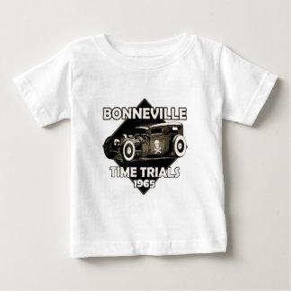 Camiseta Para Bebê Tempo Trials-1965 de Bonneville