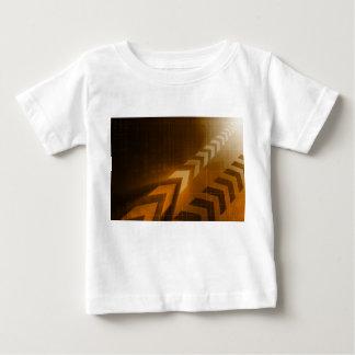 Camiseta Para Bebê Tendências da indústria ou tensão do negócio dos