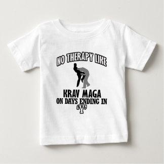 Camiseta Para Bebê Tendendo o design de Krav Maga