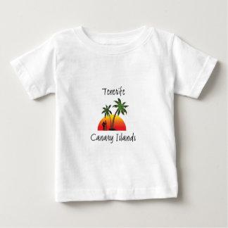 Camiseta Para Bebê Tenerife - Ilhas Canárias