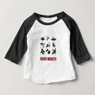 Camiseta Para Bebê tenha o compaixão
