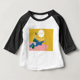 Camiseta Para Bebê Ténis de mesa Barb
